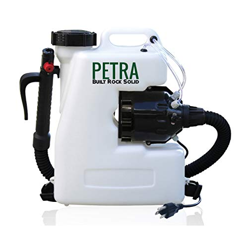 Petra Electric Fogger Atomizer Backpack Sprayer - 4 Gallon Mist Blower with Extended Commercial Hose for Pest Control - Insect, Bug & Mosquito Fogger (Atomizer Fogger)
