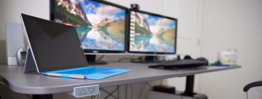 Best Adjustable Standing Desktop Desk